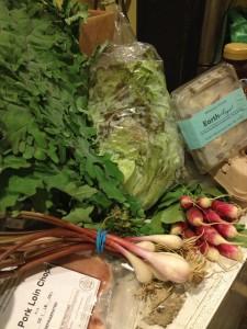 Spring Weekly Harvest Omnivore Box